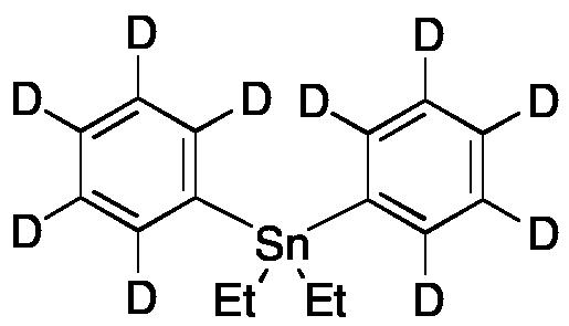 Diphenyldiethyltin-d10