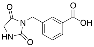 3-[(2,5-Dioxoimidazolidin-1-yl)methyl]benzoic Acid