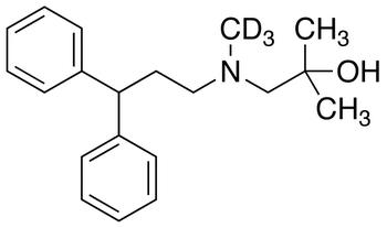 1-[(3,3-Diphenylpropyl)methylamino]-2-methyl-2-propanol-d3