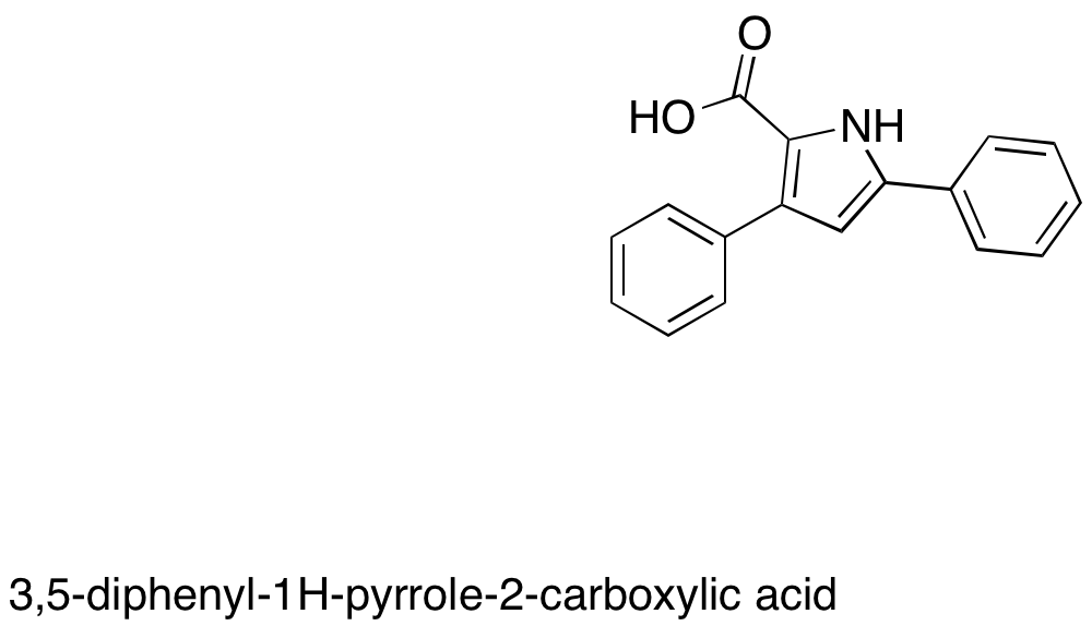 3,5-Diphenyl-1H-pyrrole-2-carboxylic Acid