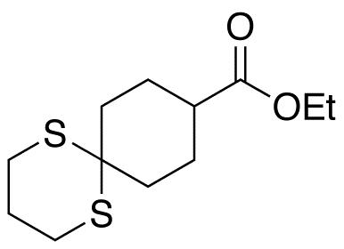 1,5-Dithiaspiro[5.5]undecane-9-carboxylic Acid Ethyl Ester