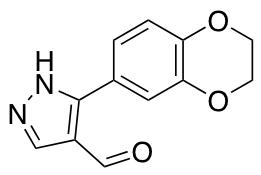 5-(2,3-Dihydro-1,4-benzodioxin-6-yl)-1H-pyrazole-4-carbaldehyde