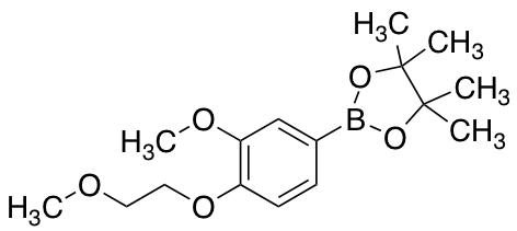 2-[3-Methoxy-4-(2-methoxyethoxy)phenyl]-4,4,5,5-tetramethyl-1,3,2-dioxaborolane