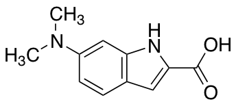 6-(Dimethylamino)-1H-indole-2-carboxylic Acid