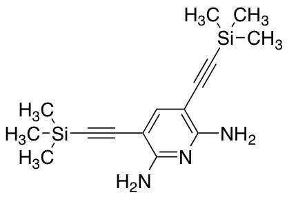 2,6-Diamino-3,5-di-(trimethylsilyl)acetylenylpyridine