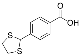4-(1,3-Dithiolan-2-yl)benzoic Acid