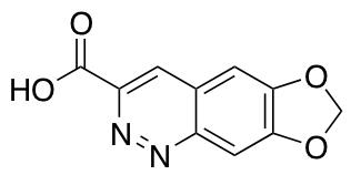 7H-[1,3]dioxolo[4,5-g]cinnoline-3-carboxylic Acid