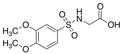 2-(3,4-Dimethoxybenzenesulfonamido)Acetic Acid