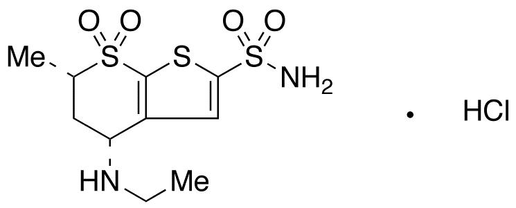 rac-cis Dorzolamide Hydrochloride