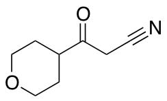3-Oxo-3-(tetrahydro-2H-pyran-4-yl)propanenitrile