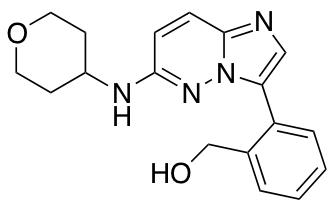 (2-{6-[(Oxan-4-yl)amino]imidazo[1,2-b]pyridazin-3-yl}phenyl)methanol