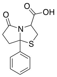 5-Oxo-7-phenyl-hexahydropyrrolo[2,1-b][1,3]thiazole-3-carboxylic Acid