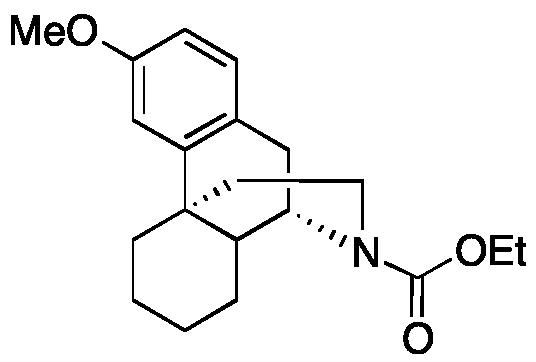 17-Ethoxycarbonyl-3-methoxymorphinan