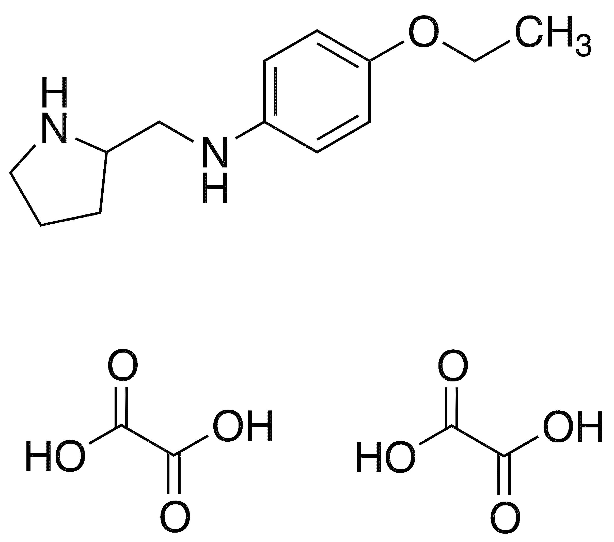 4-Ethoxy-n-(2-pyrrolidinylmethyl)aniline Dioxalate