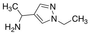[1-(1-Ethyl-1H-pyrazol-4-yl)ethyl]amine
