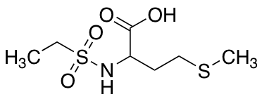 2-Ethanesulfonamido-4-(methylsulfanyl)butanoic Acid