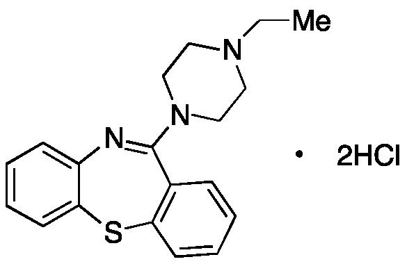 11-(4-Ethyl-1-piperazinyl)-dibenzo[b,f][1,4]thiazepine Dihydrochloride