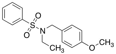 N-Ethyl-N-(4-methoxybenzyl)benzenesulfonamide