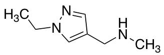 N-[(1-Ethyl-1H-pyrazol-4-yl)methyl]-N-methylamine