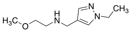 N-[(1-Ethyl-1H-pyrazol-4-yl)methyl]-2-methoxyethanamine