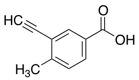 3-Ethynyl-4-methylbenzoic Acid