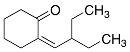 (2E)-2-(2-Ethylbutylidene)cyclohexan-1-one