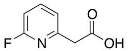 2-(6-Fluoropyridin-2-yl)acetic Acid