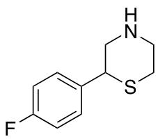 2-(4-Fluorophenyl)thiomorpholine