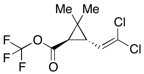(1R,3S)-tri-Fluoromethyl 3-(2,2-dichlorovinyl)-2,2-dimethylcyclopropanecarboxylate