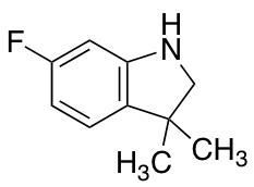 6-Fluoro-3,3-dimethylindoline