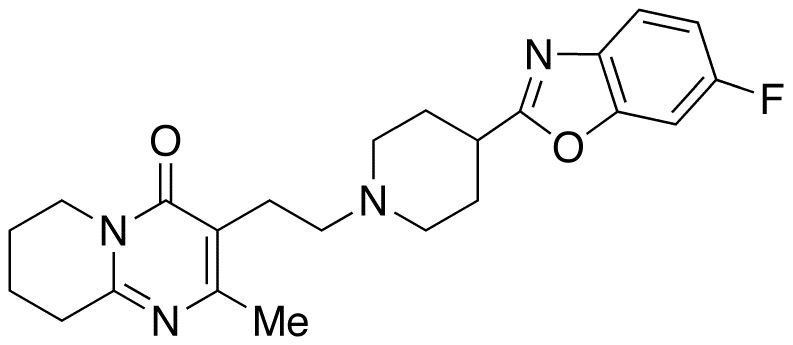 3-[2-[4-(6-Fluoro-2-benzoxazolyl)-1-piperidinyl]ethyl]-6,7,8,9-tetrahydro-2-methyl-4H-pyrido[1,2-a]pyrimidin-4-one (Risperidone Impurity)