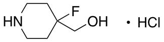 (4-fluoropiperidin-4-yl)methanol hydrochloride