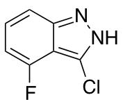 4-Fluoro-3-chloro (1H)indazole