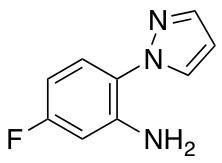 5-Fluoro-2-(1H-pyrazol-1-yl)aniline