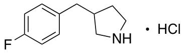 3-(4-Fluorobenzyl)pyrrolidine Hydrochloride