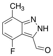 4-Fluoro-7-methyl-3-formyl (1H)indazole
