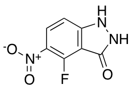 4-Fluoro-3-hydroxy-5-nitro (1H)indazole