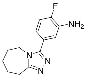 2-Fluoro-5-{5h,6h,7h,8h,9h-[1,2,4]Triazolo[4,3-A]Azepin-3-Yl}Aniline