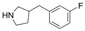3-[(3-Fluorophenyl)methyl]-pyrrolidine