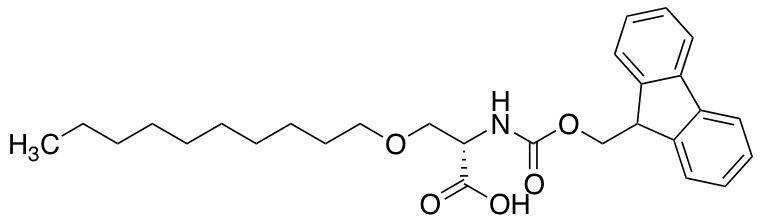 (S)-Fmoc-2-amino-3-decyloxy-propionic Acid
