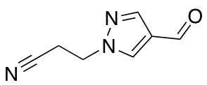 3-(4-Formyl-1H-pyrazol-1-yl)propanenitrile