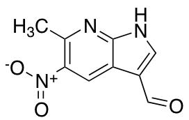 3-Formyl-6-methyl-5-nitro-7-azaindole
