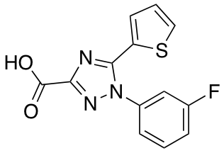 1-(3-Fluorophenyl)-5-(Thiophen-2-Yl)-1h-1,2,4-Triazole-3-Carboxylic Acid