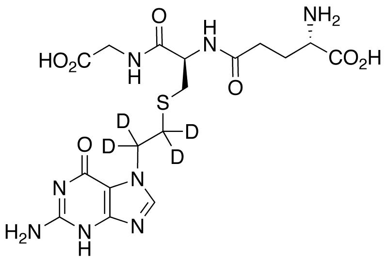 S-[2-(N7-Guanyl)ethyl]glutathione-d4