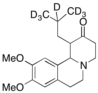 1,3,4,6,7,11b-Hexahydro-1-isobutyl-9,10-dimethoxy-2H-benzo[a]quinolizin-2-one-d7