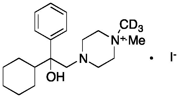 Hexocyclium Iodide-d3