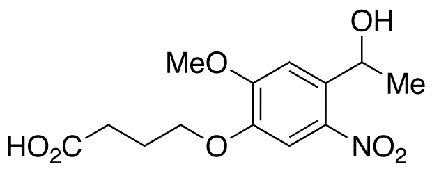4-[4-(1-Hydroxyethyl)-2-methoxy-5-nitrophenoxy]butanoic Acid