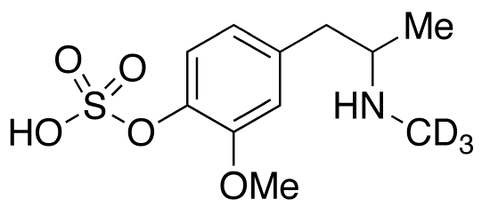 4-Hydroxy-3-methoxymethamphetamine-d3-4-O-sulfate