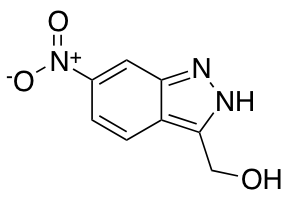 3-Hydroxymethyl-6-nitro 1H-indazole