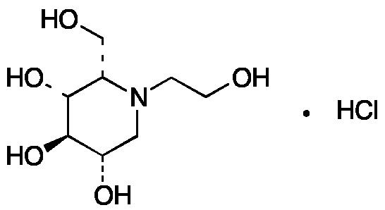 (2S,3R,4R,5S)-1-(2-hydroxyethyl)-2-(hydroxymethyl)-3,4,5-Piperidinetriol Hydrochloride